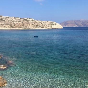 La plage de Kalotaritissa