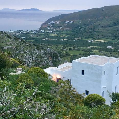 La maison en bordure du vilage