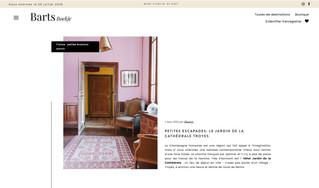 Le Jardin de la Cathédrale sur le site néerlandais Barts Boekje