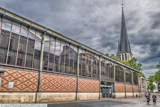 Le quartier des Halles à Troyes