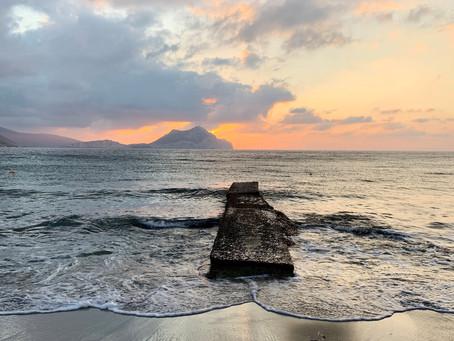 Sur la plage d'Aegiali, Amorgos