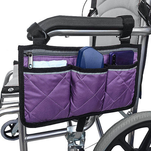 Universal Wheelchair Side Pouch