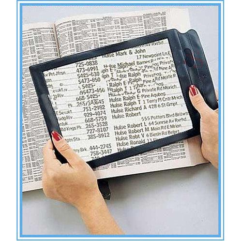 Triple Full Page Magnifier for Seniors / Elderly / Presbyopia