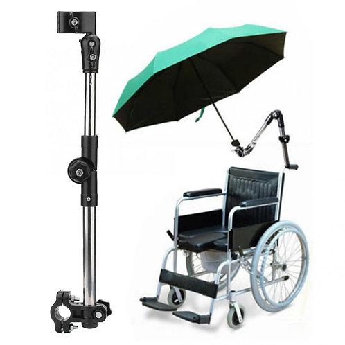 Wheelchair Accessories - Umbrella Holder Attachment Handle Bar