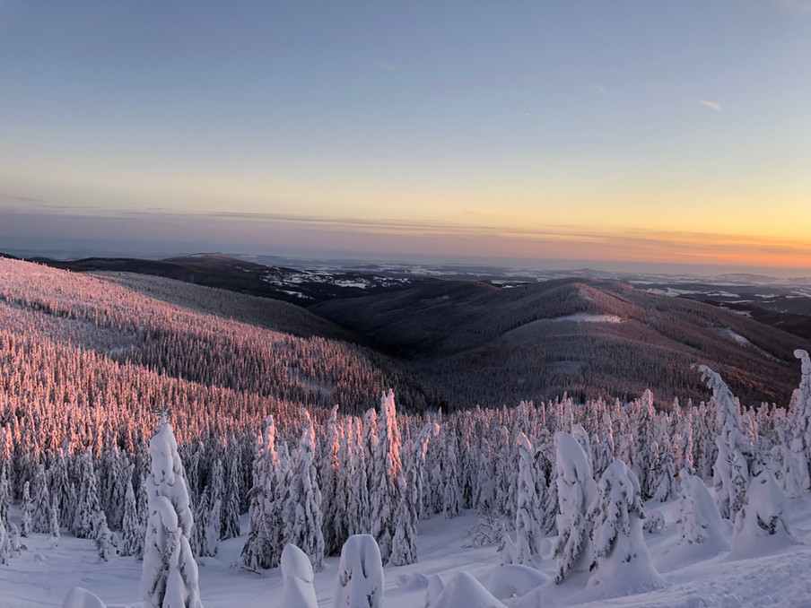 Výhled z Lysé hory