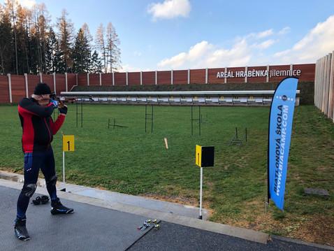 Výuka biatlonové střelby