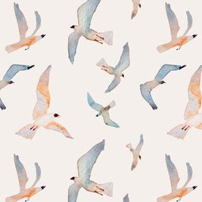 sea gulls canvas toy
