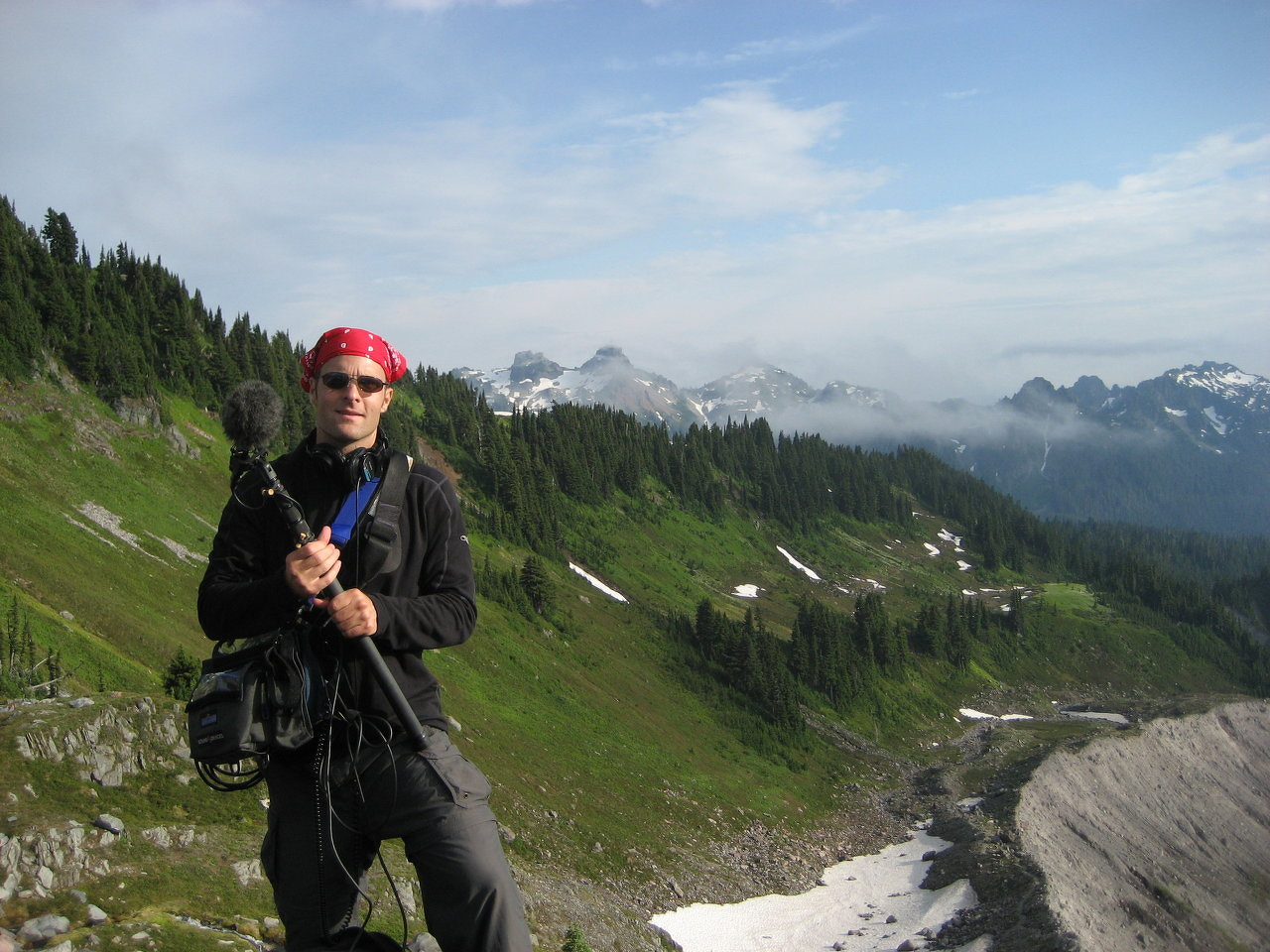 'A Restless Giant' Mount Rainier