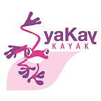 LOGO yaKay KAYAK - Canoé - Rafting - Pad