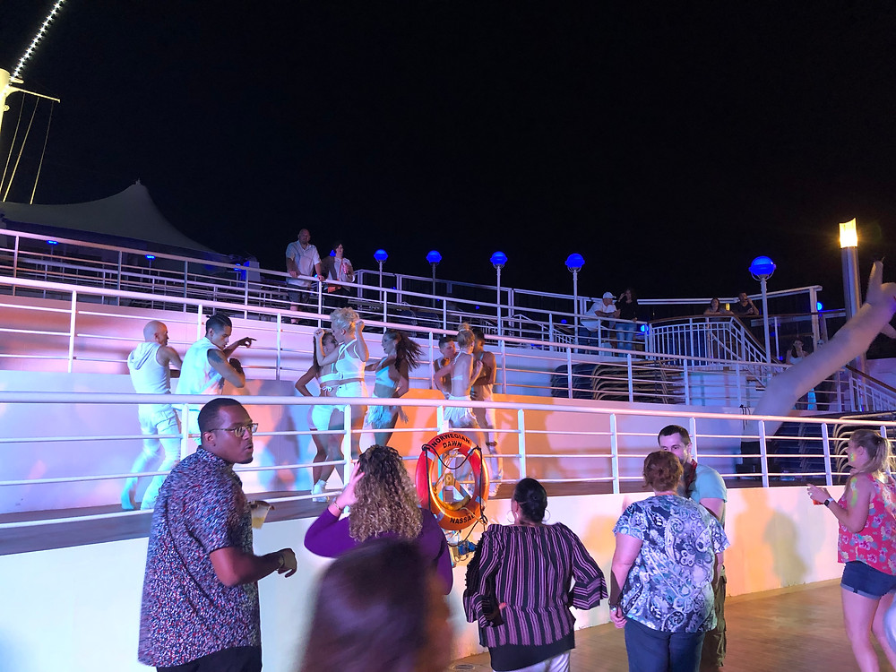 Party NCL Dawn Cruise Travel Vacation
