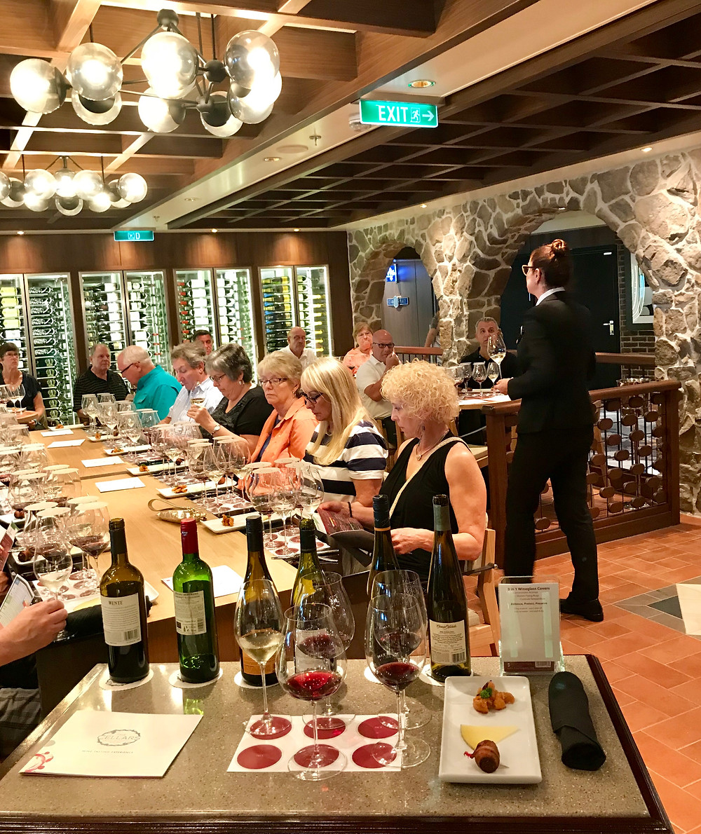 Cruise Travel NCL bliss wine class