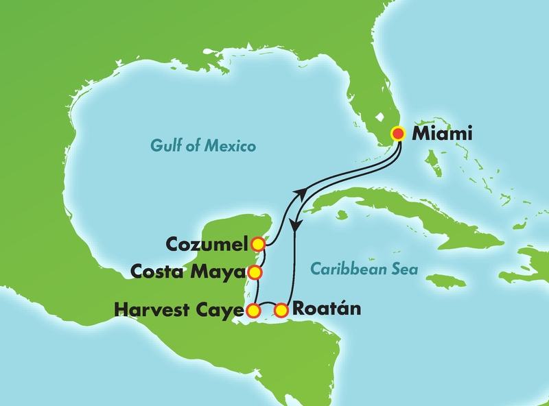 7 Day Western Caribbean on NCL Escape