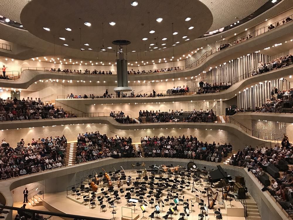 Elbphilharmonie Cruise Vacation Hamburg Music NCL
