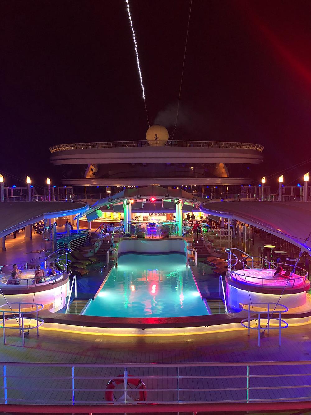 Norwegian Dawn Pool Travel Cruise Vacation