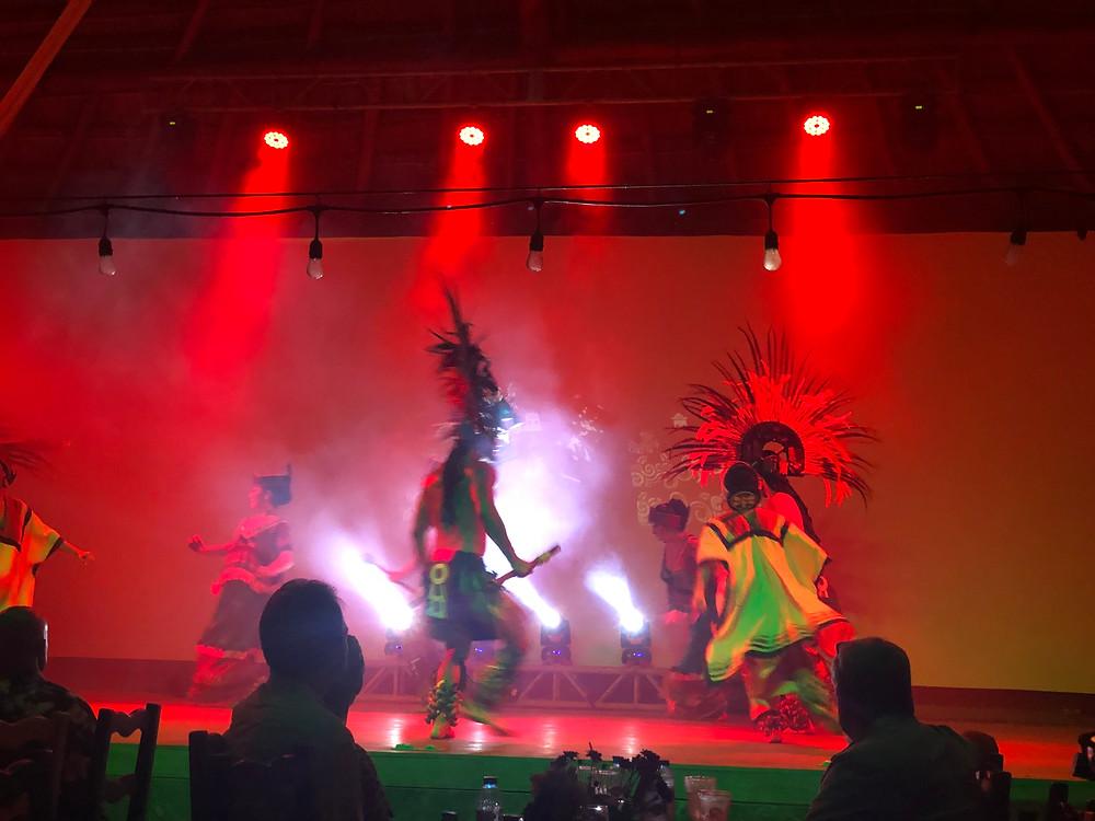 Mexican Fiesta show at El Dorado