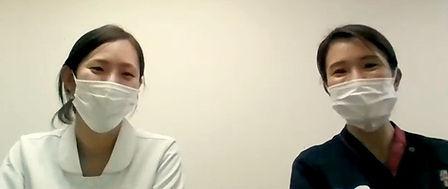 インタビューを受けるメイトウホスピタルの看護師の画像