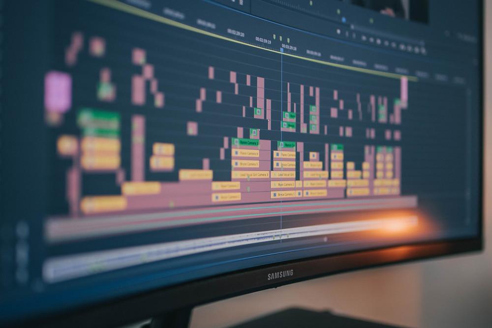 Timeline Adobe Premiere Pro Cointent Creation Visual Content Creation Videoprahie