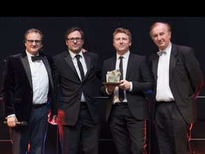 Ames Goldsmith UK Team Received the International Trade Award