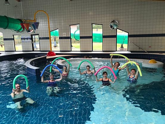 Kine Kinesist Kinesitherapeut Aquagym Therapeutisch zwemmen Waterfitness Watergym Merelbeke