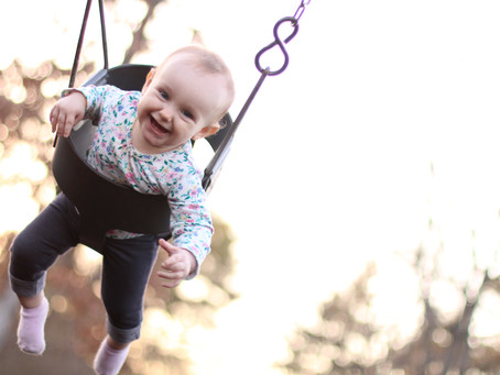 Lidia on the Swing!