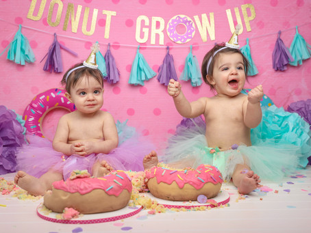 Donut Grow Up Cake Smash!
