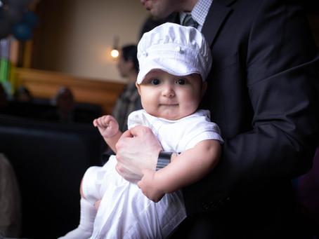 Benjamin's Baptism