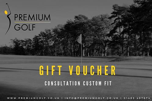 Consultation custom fit