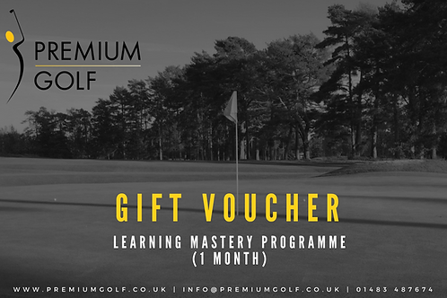 Learning Mastery programme (1 month)