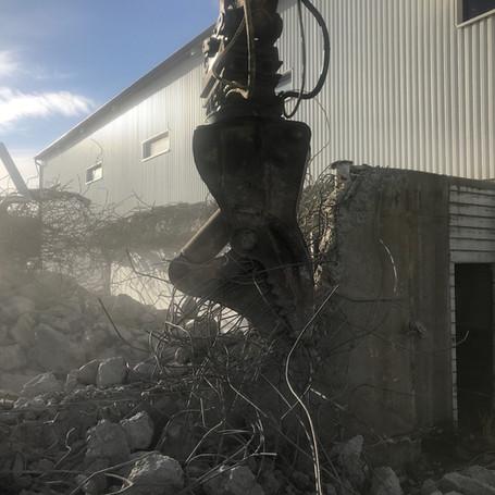 Tygging av betongkonstruksjon