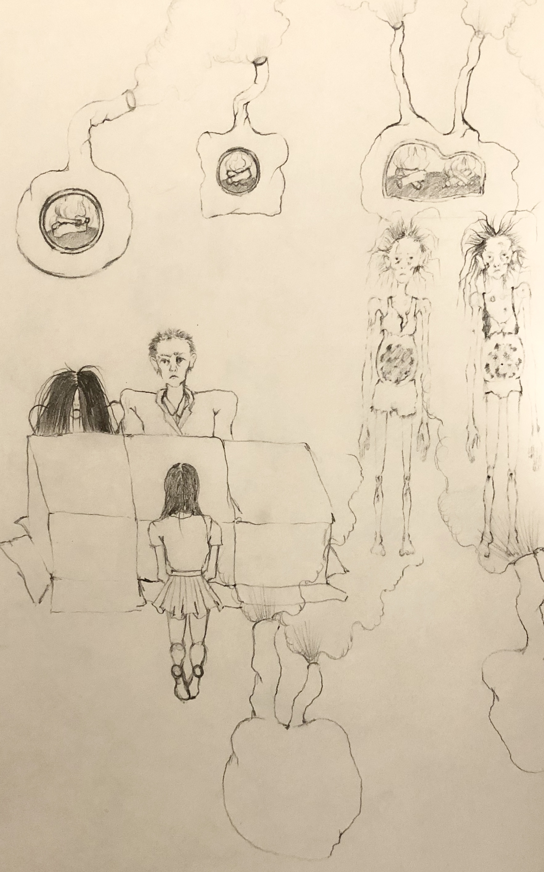 Sketch for The Anniversary (2019)