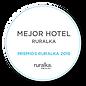 logo mejor hotel ruralka