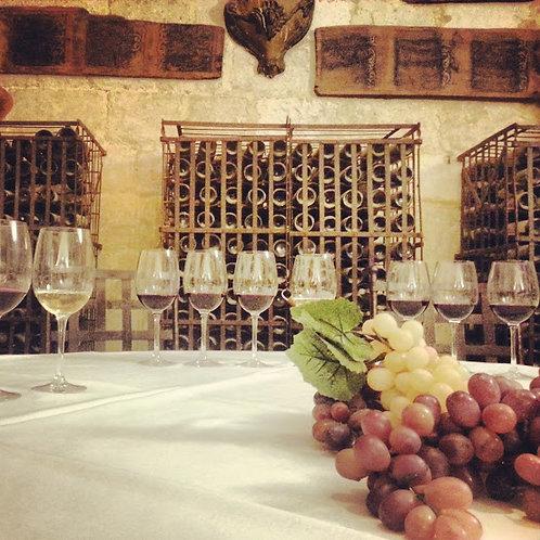 Visita a la bodega y cata de vinos