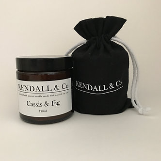 Cassis & Fig Travel Candle 120ml