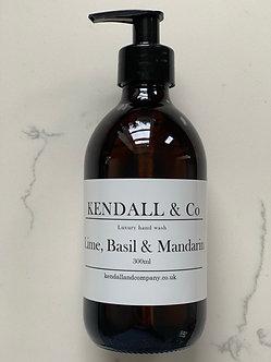 Lime, Basil & Mandarin Hand Wash 300ml *NO PUMP*