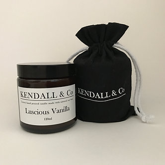 Luscious Vanilla Travel Candle 120ml