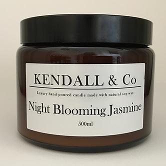 Night Blooming Jasmine Three-Wick Candle 500ml