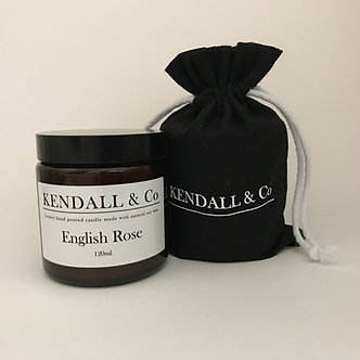 English Rose Travel Candle 120ml