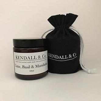 Lime, Basil & Mandarin Travel Candle 120ml