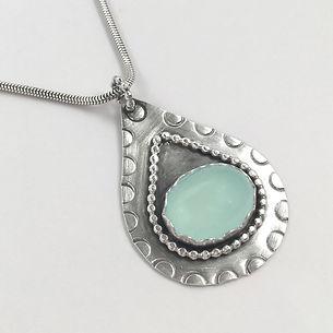 Cullen Teardrop+Chalcedony+Necklace.jpg