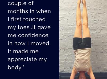 Michelle's Yoga Journey