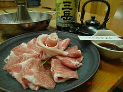 【特選】県内産黒豚しゃぶしゃぶ(2食付)♪