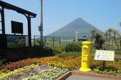 JR西大山駅ポスト