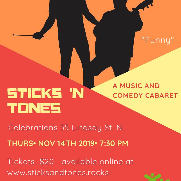 Sticks 'n Tones Concert Cabaret