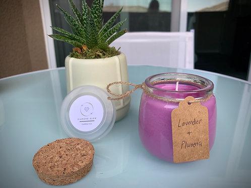 Lavender + Plumeria