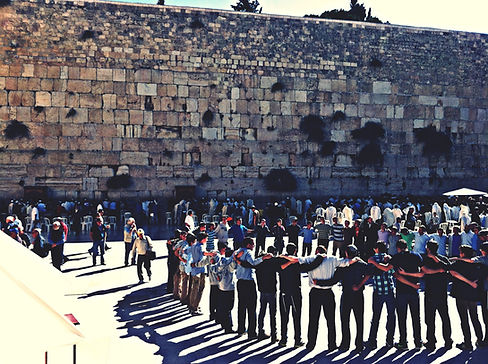 By the Western Wall