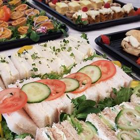 Buffet, afternoon tea, egg sandwich, par