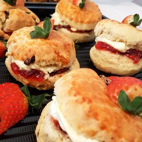 homemade scones, jam and cream.jpg