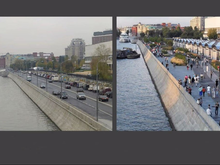 Reporting on the Healthy City from the Moscow Urban Forum 2020