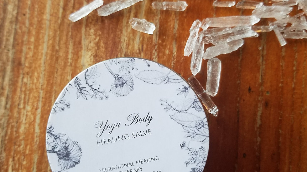 Yoga Body Healing Salve