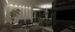 Sala Jantar e TV